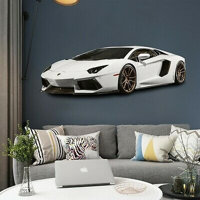 3d Sports Car P71 Car Wallpaper Mural Poster Transport Wall