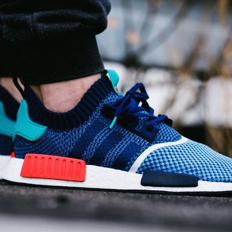 promo code df0fb 3f0a4 Adidas NMDR1 PK Packers Sneakers Colorful, Sneakers, Stylish