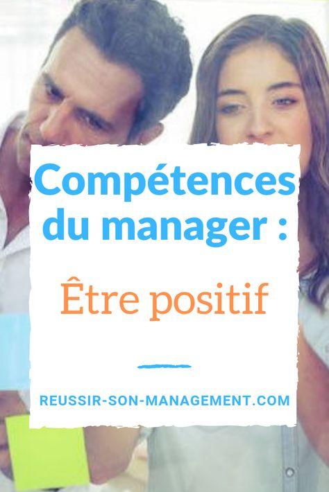 Compétences du manager : être positif