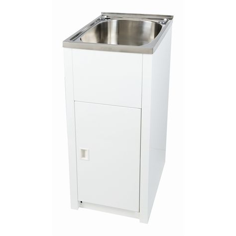 Everhard 30L Project Laundry Trough and Cabinet $230 - Bunnings ...
