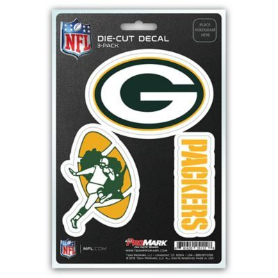 Nfl Green Bay Packers 3 Piece Car Emblem Kit Multi Team Decal Packers Team Nfl Car