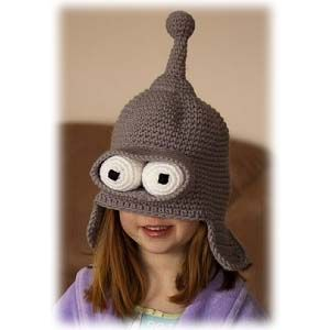 Immortalize the coolest robot to ever walk off the assembly line with the  Futurama Bender beanie. This awesome beanie is made in Bender s image so  you can ... 428ed93b5cc