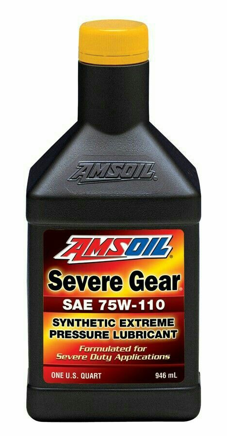 Amsoil Severe Gear Synthetic Extreme Pressure Ep Gear Lube Is A