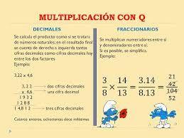 Pin En Prueba De Multiplicacion Y Division De Fracciones Y Decimales