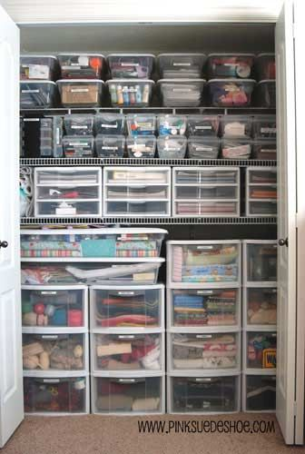 Closet Organizing Ideas, How To Organize Closets, Closet Organizers, Photos  Of Organized Closets | For The House | Pinterest | Storage Boxes,  Organizing And ...