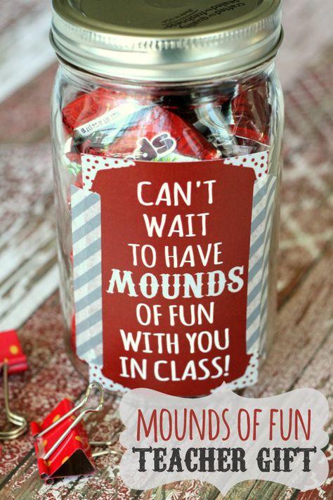 Mounds of Fun Teacher Gift