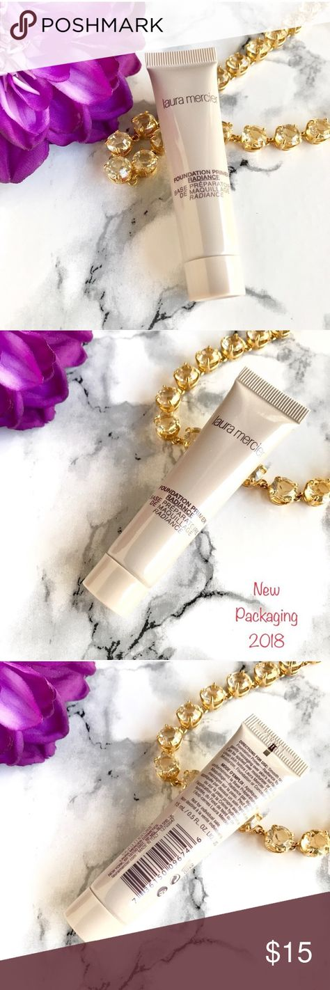🆕 NEW✨ Laura Mercier Foundation Primer RADIANCE 🆕 NEW✨ Laura Mercier Foundation Primer in RADIANCE 🍃 Travel Size 15ml / .5 oz 🍃 Brand New, Never Opened. This popular Foundation Primer creates an illuminating smooth canvas for foundation to glide smoothly. ☀️ NEW Packaging  ✨NO TRADE 💕Always NEW, Always AUTHENTIC✨ 💕 Come check out my NARS  * TOO Faced * Tarte * Urban Decay * Marc Jacobs * Bobbi Brown * BECCA * DIOR * Givenchy and More Cosmetics 💕 laura mercier Makeup Face Primer