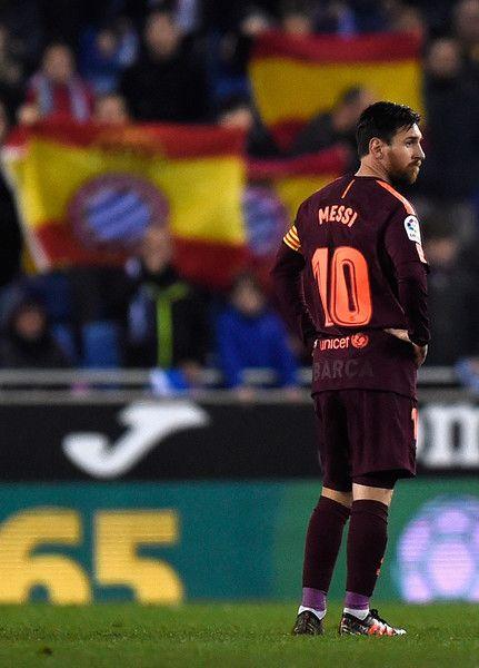 Espanyol V Barcelona Spanish Copa Del Rey Lionel Messi Messi