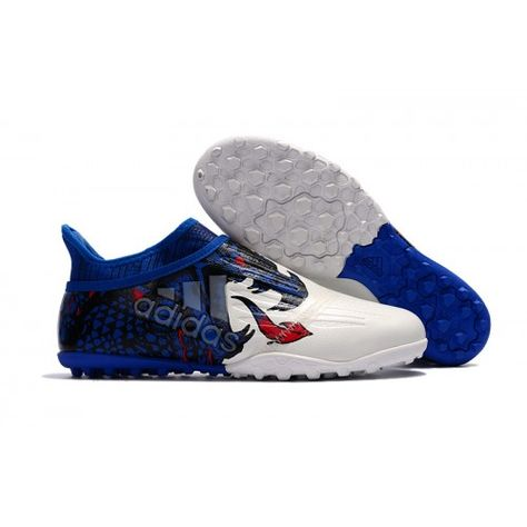 cheap for discount 767e0 968be Outlet Adidas X Tango 16 Purechaos TF Botas de futbol Blanco Azul
