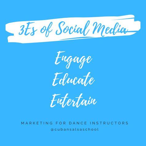 3es of Social Media