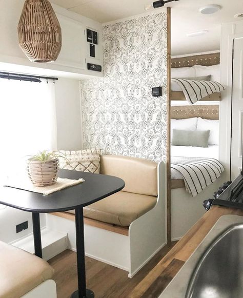 Jayco Camper Remodel Sources and Info — Best of Our Todays Camping has rein… Remodel Caravane, Jayco Campers, Travel Trailer Remodel, Travel Trailers, Airstream Trailers, Bus Travel, Travel Trailer Decor, Travel Trailer Living, Travel Hacks