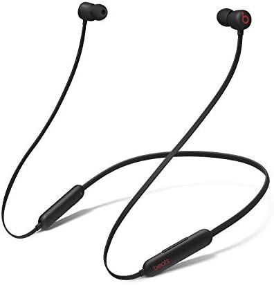Beats Flex Wireless Earbuds – Apple W1 Headphone Chip, Magnetic Earphones, Class 1 Bluetooth, 12 Hours of Listening Time, Built-in Microphone - Black Cheap Wireless Headphones, Beats Headphones, Wireless Speakers, Bose, Noise Cancelling, Headset, Apple, Amazon, Black