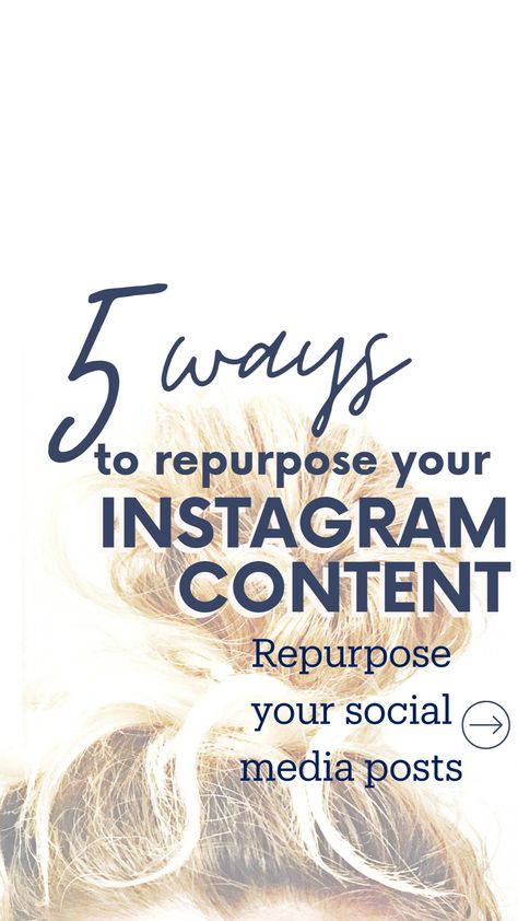 Repurpose your social media posts