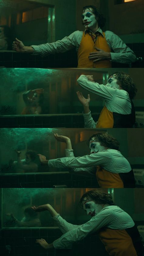 Joker movie 2019 Bathroom Dance