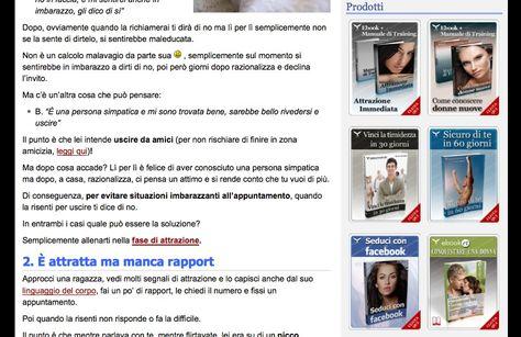 """Modello di Business: Prodotti """"YOU"""" - Guide e corsi video su misura - Sito web: SeduzioneAttrazione - http://www.seduzioneattrazione.com"""