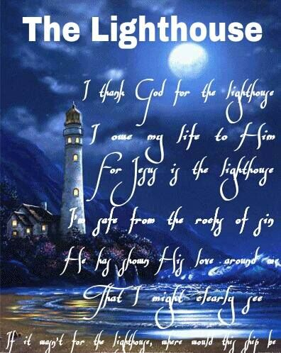 I Thank God For The Lighthouse Lyrics : thank, lighthouse, lyrics, Lighthouse, Quotes, Ideas, Quotes,, Lighthouse,