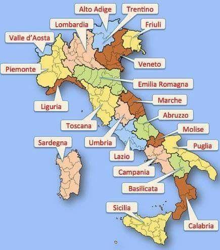 Italie Apprendre L Italien Langue Italienne Vocabulaire Italien