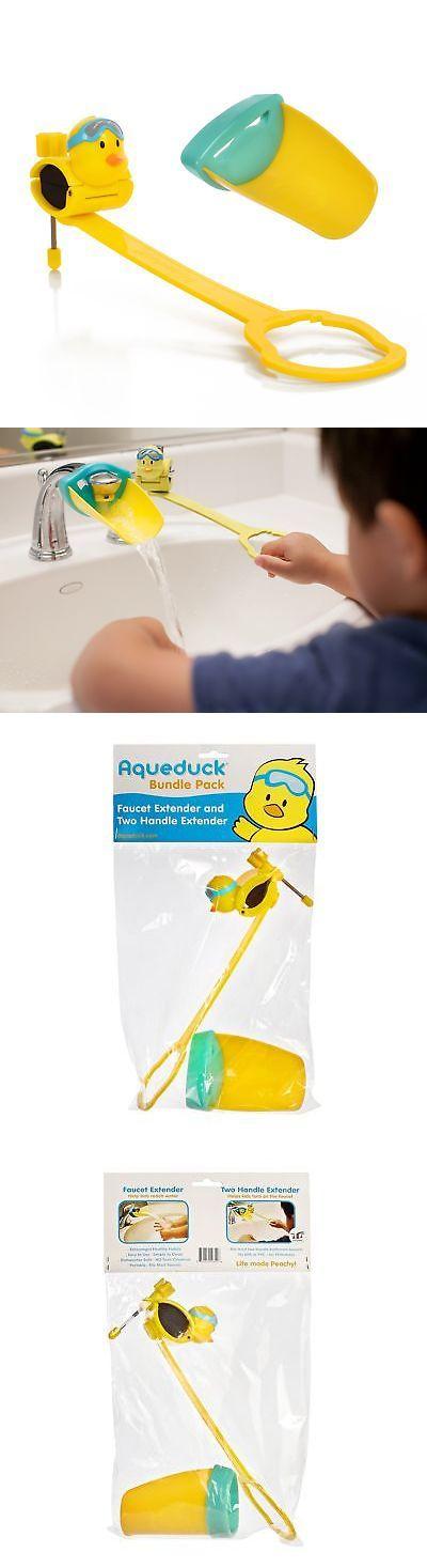 Bathing Accessories 100221: Aqueduck Faucet Handle Extender Set ...