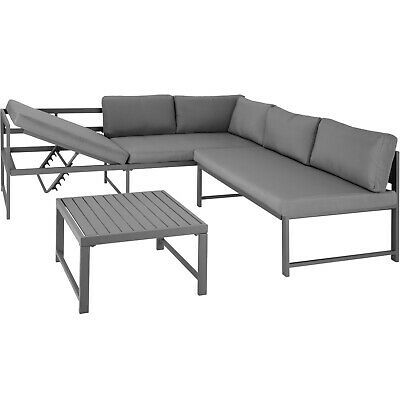 To Top It Off The Included Tables Attractive Design And Flat Surface Add Extra Appeal And Practicality In 2020 Garden Furniture Sets Garden Sofa Set Garden Furniture