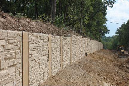 Highway Architectural Home Rail Precast Concrete Retaining Walls Concrete Retaining Walls Retaining Wall Precast Concrete