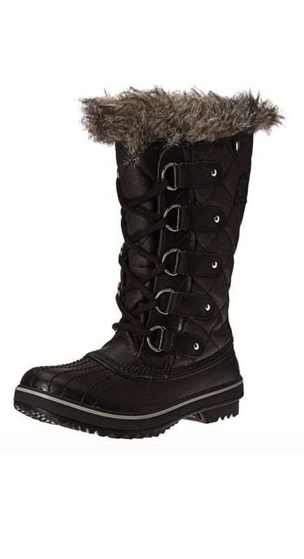 Kelly Dodd S Black Winter Boots Big Blonde Hair Black Winter