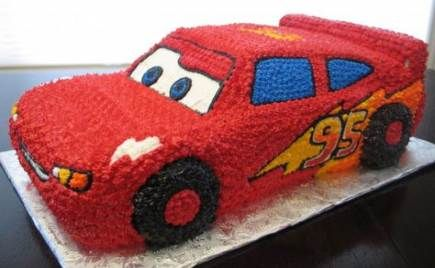42 Trendy Cars Cake Buttercream Lightning Mcqueen Party Ideas