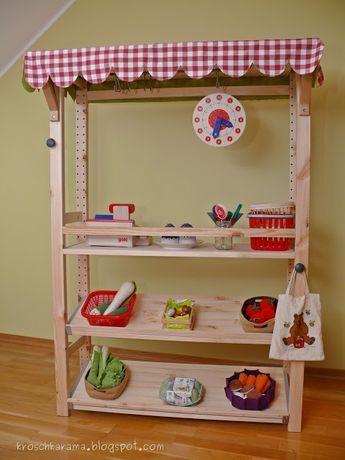 Kroschka Ikea Hack Kaufladen Aus Einem Ivar Regal Preschool
