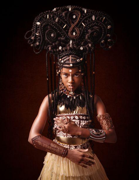 Beautiful Black Girl, Black Girl Art, Black Girl Magic, Black Art, African Tribes, African Women, African Princess, African Models, Disney Princess Dresses