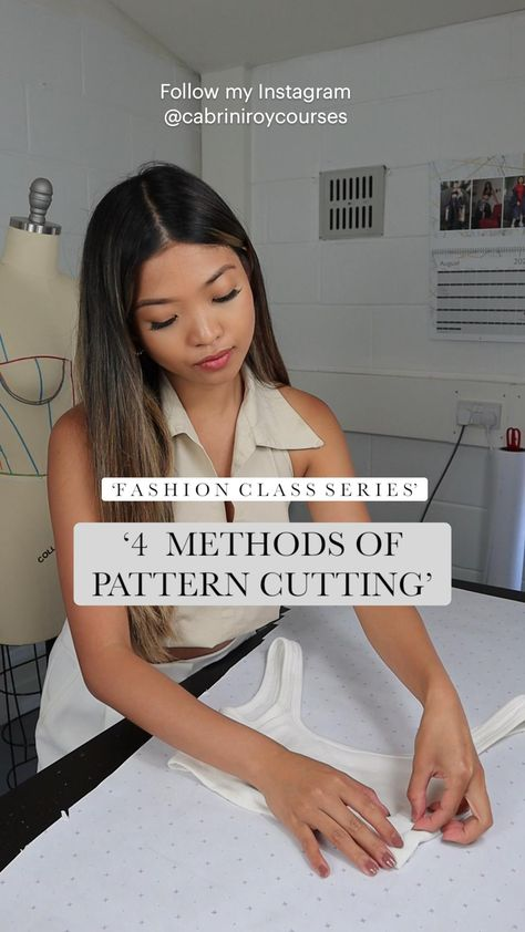 Pattern Cutting   Different Pattern Cutting Methods   Fashion Class   Learn about pattern cutting