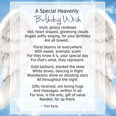 20 Memorable Deceased Loved Ones Birthday Quotes Birthday In
