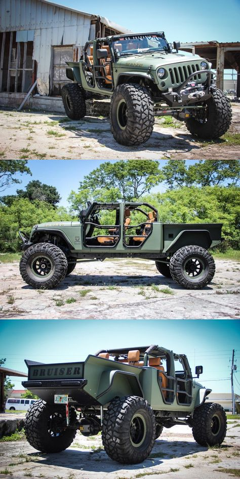 2008 Jeep Wrangler Bruiser Conversion