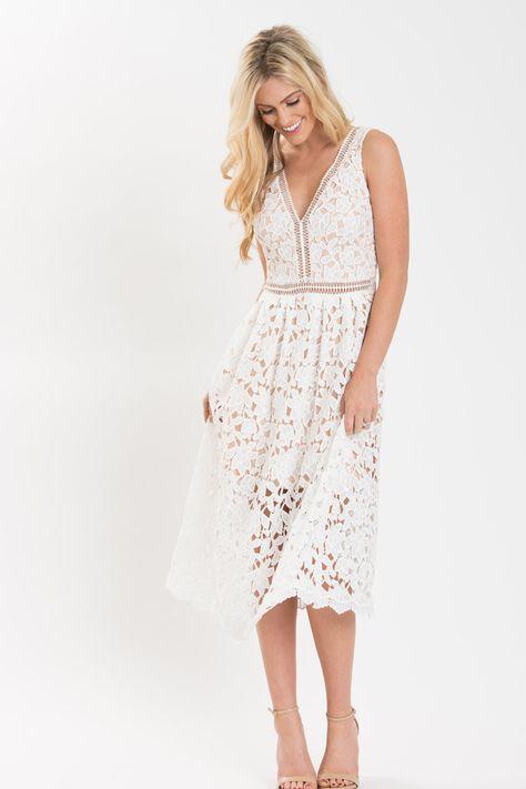 dd59681e99da White Lace Dresses