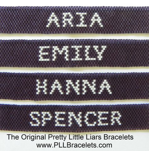 The Original Pretty Little Liars Bracelet by DreamWeaverDesigns