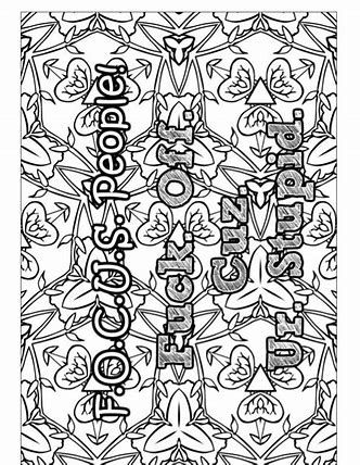 Image Result For Sarcastic Printable Adult Coloring Pages With