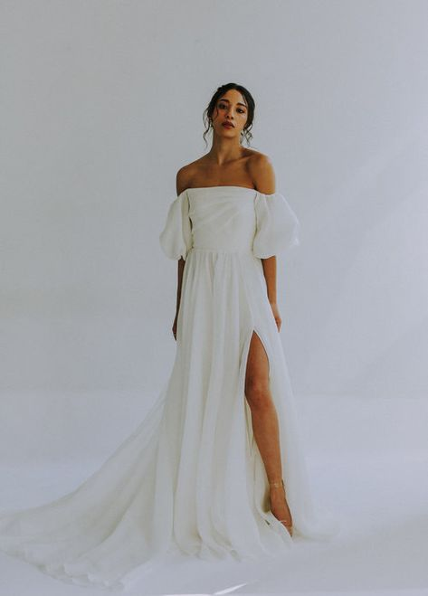 Unique Bridal Gowns and Wedding Dresses — Leanne Marshall Inspiration Mode, Wedding Inspiration, Yes To The Dress, Dress Up, Bridal Gowns, Wedding Gowns, Ethereal Wedding Dress, Modest Wedding, Kimono Tee