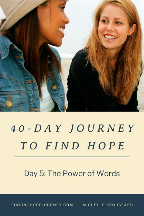 Do your words inspire hope? Do your words build up or tear down?  #hope #faith #encouragement #findinghope #hopequotes