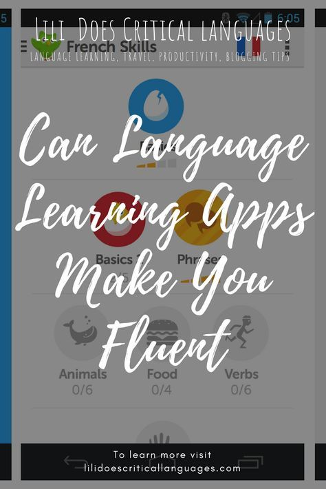 Can apps like Duolingo make you fluent in a language? What
