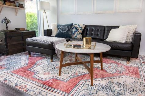 Snag gorgeous, on-trend area rugs, runners and mats for a fraction of the cost of high-end sites. 🤩