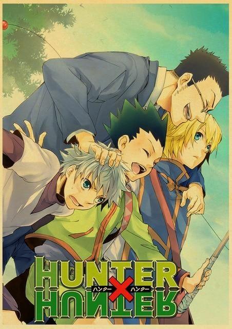 Hunter x Hunter Retro Posters - 42X30 CM / E170 11