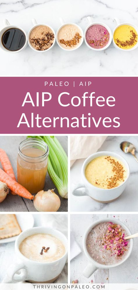 AIP Coffee Alternatives (Skipping coffee is not as bad as it seems) - Thriving On Paleo Dieta Aip, Paleo Coffee, Primal Recipes, Health Recipes, Free Recipes, Aip Diet, Autoimmune Diet, Paleo Smoothie Recipes, Paleo Meals