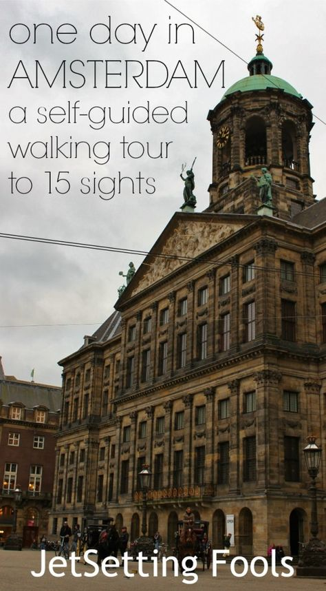 Amsterdam is a compact city, but the sights are spread throughout, making it somewhat difficult to organize an easy-flowing self-guided walking tour. To see what we wanted to see, we had to cover some ground, which included a little zigging and zagging.