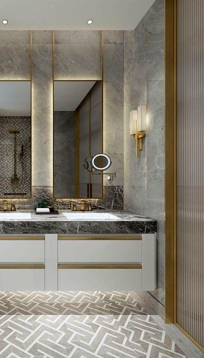 32 Awesome Bathroom Vanity Design Ideas 28 Best Inspiration Ideas That You Want In 2020 Amazing Bathrooms Beautiful Bathroom Decor Bathroom Vanity Designs