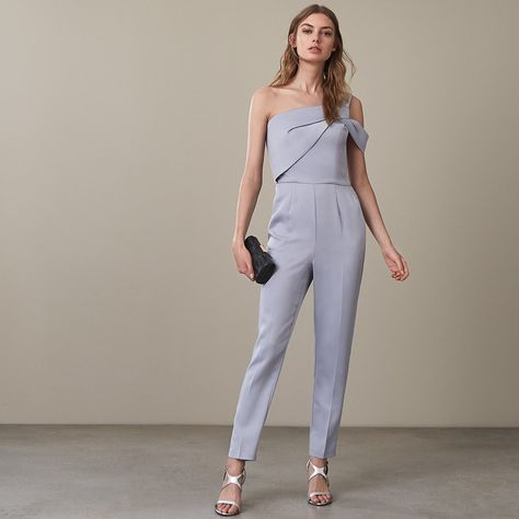 a02a94682ba The mandi one shoulder jumpsuit in plays its part in our iconic jumpsuits  collection and is available to buy online at REISS.