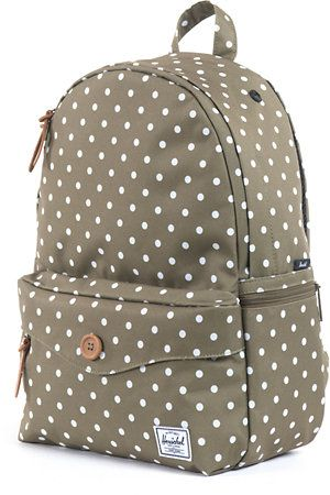 5f211fe47495 Amazon.com  Vans Deana Polka Dot Print Blue Backpack  Clothing ...
