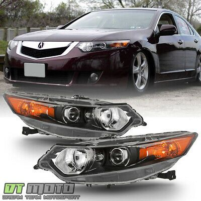Ad Ebay Hid Type 2009 2014 Acura Tsx Headlights Headlamps