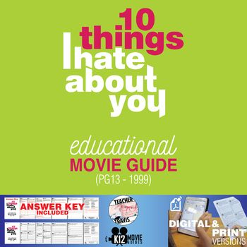 Pin On Movie Guides For Students Tpt
