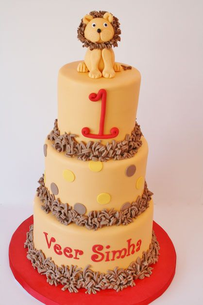 Birthday Cakes New Jersey - Lion Custom Cakes