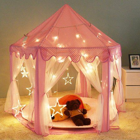 Play Tent Kids Girl Princess Castle