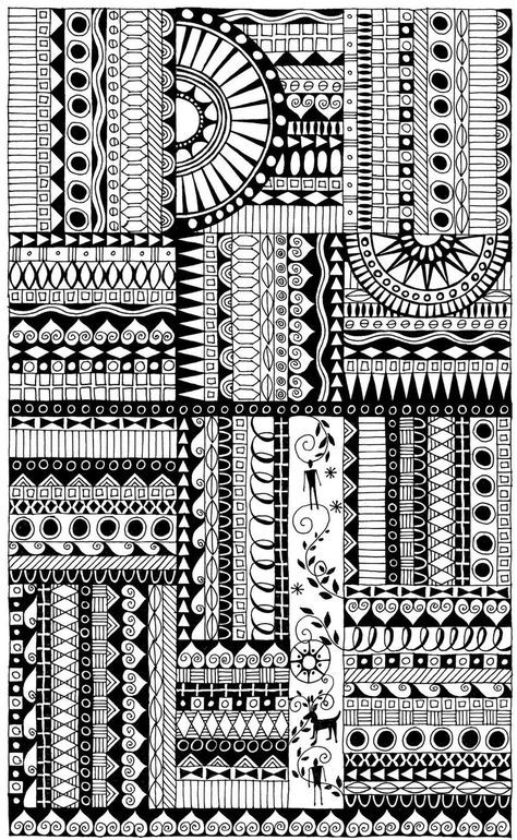Doodle Of This Week And Last Doodle Borders Zentangle Patterns
