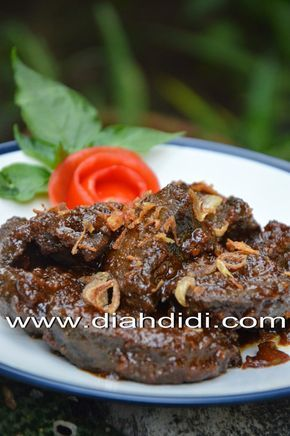 Diah Didi S Kitchen Malbi Hati Sapi Resep Masakan Masakan Resep Daging Sapi